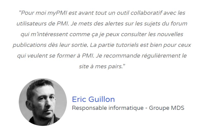 Témoignage Eric Guillon